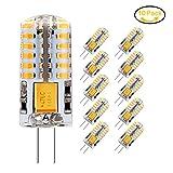 Jpodream® 3.5W G4 LED Lampe, 48X 3014SMD, 300LM, Ersatz für 35W Halogenlampen,12V AC / DC, 3000K...