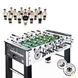 Live Kicker Dfb Heimspiel Tischkicker, Schwarz/Weiß, 74 x 140 x 88.5 cm