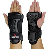GWELL Funktion Handgelenkschoner Handschützer Handschuhe Atmungsaktiv Elastisch Ski Protektor...