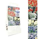 Inter Flower - 125 Blumenzwiebeln - Mix - 6 Sorten - seperat verpackt - Tulpen, Scilla,...