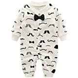 Baby Jungen Strampler Spielanzug Schlafanzug Säugling Baumwolle Overalls Baby-Nachtwäsche, 6-9...
