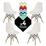 Stuhl IMS Weiss (4xStühlen) (mehr Farben) SKLUM