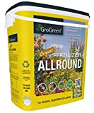 GroGreen Organischer Bio Universaldünger 4-3-2 +1 % Mg + 9% Ca, 7,5 kg Eimer