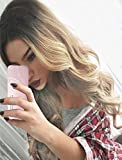 Tsnomore New Beliebte Long Body Wavy Schwarz zu Blonde Ombre Frauen Perücke