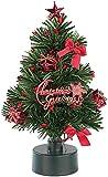 PEARL Weihnachtsbaum für LKW: LED-Weihnachtsbaum mit Batterie-Betrieb (Mini Tannenbaum)