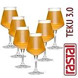 6 x Craftbeer Verkostungs Glas / Stilglas / Sommelierglas   425 ml