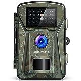 [Upgraded]APEMAN Wildkamera Fotofalle 12MP 1080P Full HD Jagdkamera 20m Nachtsicht 2.4' LCD...
