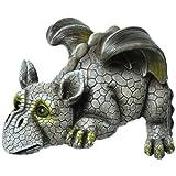 Drachenkind Kantenlieger Drache Gargoyle Figur