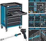 Hazet Werkstattwagen Assistent mit Sortiment, 1040 x 817 x 502 mm, Anzahl Werkzeuge 145, 1 Stück,...