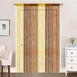 AIZESI Duschvorhänge für Kinder, Türvorhang Insektenschutz 90x200, Raumteiler Vorhänge Mädchen,...