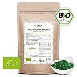Fit4Taste Bio Spirulina Pulver | Rohkostqualität | Bio | Vegan | Für Smoothies und Joghurts |...