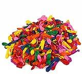 OUNONA 500 Stücke Wasserballon Wasserbomben (Zufällige Farbe)