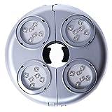 poeland 1,5W LED Kühlschrank & Gefrierschrank Light E14Base 2Stück warmes Licht warmweiß