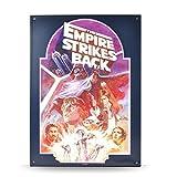 Star Wars the Empire Strikes Back Targa Metalli