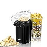 Aicok Popcornmaschine, 1200W Heißluft Popcorn Maker, Öl ist nicht notwendig, Weites-Kaliber-Design...