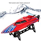 (DE Stock) Smibie 2,4 GHz RC Boote Electric Racing Boot 25KM / H High Speed Wasserdicht für...