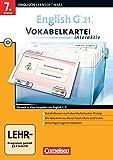English G 21 - Lernsoftware - Vokabelkarteien interaktiv - zu allen Ausgaben: English G 21 Band 3....