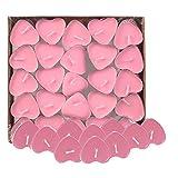 LAAT Teelichter Kerzen Herz Teelicht Set Kreative Kerze Teelichter Set Herz Kerzen Liebe Herzform...