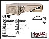 RHS360 Loungemöbel Abdeckschutz für L-Form, passt am besten am Set von max. 355 x 355 cm....