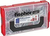 fischer FIXtainer - SX-Dübel und Schrauben-Box - Spreizdübel mit passenden Schrauben für...