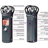 Zoom H1V2.0Digitalrecorder, Farbe blau