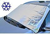 Auto Scheibenabdeckung Thermo Scheiben-Schutz für Winter und Sommer