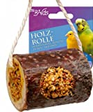 JR-Farm Bird Holzrolle Wellensittich + Kanarien