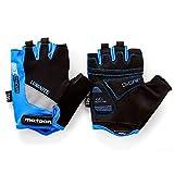 Fahrradhandschuhe meteor GEL GX30 Blau für Radsport MTB Road Race Downhill Wandern und andere...