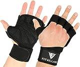 Trainingshandschuhe mit Handgelenkstütze für Damen und Herren – für Krafttraining Crossfit...