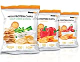 High Protein Chips - Eiweiß Fitness Snack Von Supplify - Mixed 14x50g Whey Proteinpulver-...