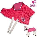Barbie Pferdedecke, 2 Seiten, Fleece und Steppdesign, mit Barbie Emblem: für Plüschpferd...