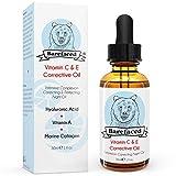 BeBarefaced Vitamin E Öl Nacht Elixier Gesichtsöl Mit Hyaluronsäure und Vitamin C - Hybrid Anti...