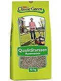 Classic Green Rasensaat Mischung zum Begrünen Rasensaat 10kg  Grassamen   Rasensamen 10kg   Premium...