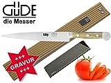 Güde Alpha Olive Messer Kochmesser Santoku Brotmesser Schälmesser Schinkenmesser Chai Dao ohne/mit...