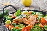 Silva-Homeline PPF 1503A Partypfanne mit Glasdeckel zum Kochen, Braten, Dünsten, Auftauen und...