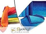 """Bio-Handtuchserie """"Colori"""" - erhältlich in 6 brillanten Farbkombinationen und 3 verschiedenen..."""