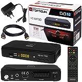 SATELLITEN SAT RECEIVER ✨ HB DIGITAL DVB-S/S2 SET: Hochwertiger DVB-S/S2 Receiver + HDMI Kabel mit...