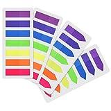 560 Stück Page Marker Farbige Index Tabs Flaggen Fluoreszierende Haftnotizen für Seitenmarkierung,...