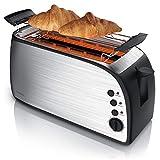 Arendo - Automatik Toaster Langschlitz | Defrost Funktion | wärmeisolierendes Gehäuse |...