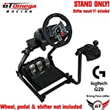 GT Omega Steering Wheel Stand Suitable for Logitech G25G27, Thrustmaster T500RS and TH8RS shfiter....