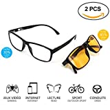 Computerbrille - Gaming Brillen - Brillen mit blaulichtfilter - Brillen blaulichtfilter - Gamer...