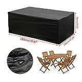 KING DO WAY wasserdicht Polyester Möbel Outdoor Sofa Sets Schutz Garten Outdoor Tisch Cube Sets...