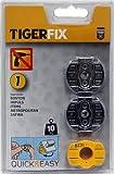 Tigerfix-Klebesystem für Tiger Ausstattungsserien, Set Nr. 1, kleben statt bohren