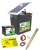 Weidezaungerät Cowboy B 5000 SOLAR - 9V inkl. Batterie, Solar, komplettes Zubehör zum Anschluss -...