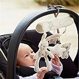 Kinder Baby Soft Pram Kinderbett Bett-hängende Musical Rattle Kaninchen Babyspieluhren 3-36 Monate