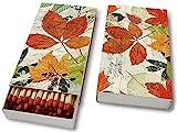 Streichhölzer Kaminholz Kaminhölzer (Matches Herbarium) Bunte Blätter Herbst Baum Blätter Bunt...