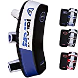 Farabi Thai Pad Kick Shield MMA Kickboxing Muay Thai Training Pad Arm Pad Strike Shield (Blue/Black)...