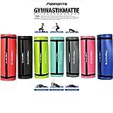 Gymnastikmatte Studio 183 x 61 x 1,5 cm   inkl. Übungsposter und Tragegurte   Hautfreundliche -...