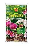 COMPO SANA Orchideenerde mit 8 Wochen Dünger für alle Orchideenarten, Kultursubstrat aus...