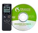 Olympus VN-541PC Aufnahmegerät (mit DNS12 Spracherkennungssoftware 4 GB Speicher, USB-Anschluss,...